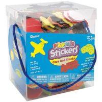 Bucket of Foamies Stickers, Go Team, 5-Ounce