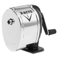 X-Acto Model l table or wall mount pencil sharpener, chrome , 1041