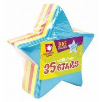 Big Foam Shapes 36/Pkg, Stars