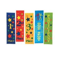 1st Place Award Ribbon, 1 dozen