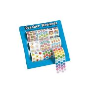 Mini Teacher reward Rolls of Stickers Assortment