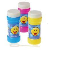 Smile Face Bubble Bottles, 12 units