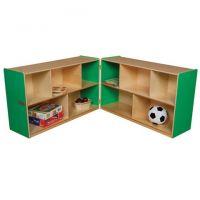Wood designs Green Folding Storage, 30