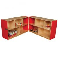 Wood designs Red Folding Storage, 30