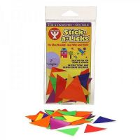 Hygloss Gummed Paper Shape Stick-A-Licks 1