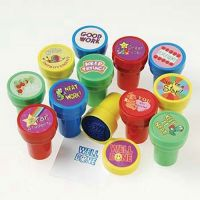 Plastic Teacher Stampers Reward