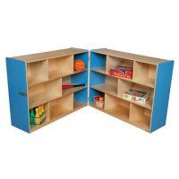 Wood designs Blue Folding Storage, 38