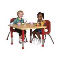 Children's Adjustable Activity Table - Rectangular 24