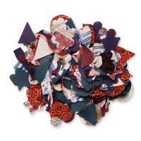 Roylco Fabric Shapes - Pkg. of 500 (R15654)