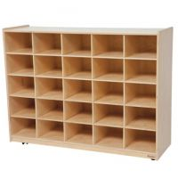 WoodDesigns, 25 Tray Storage Natural without Trays, WD16009