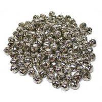 100 Piece Silver Jingle Bells 5/8 - Inch