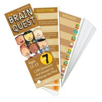 Brain Quest Grade 7, revised 4th edition: 1,500 Questions and Answers to Challenge the Mind
