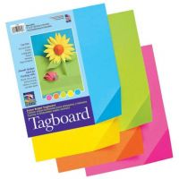 Pacon Tagboard Paper, Assorted Super Bright Colors, 9-Inches by 12-Inches, 100-Count, 1709