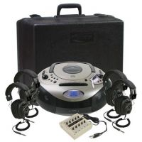 Classroom 4-Person Spirit Stereo Listening Center