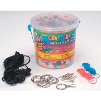 Crafts Bead Kit Plastic Pony Bead Mega Critters Bucket