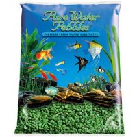 Emerald Green Aquarium Natural Gravel,  Acrylic Color - 5 LBS Bag
