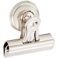 Sparco Bulldog Clip, Magnetic Back, Size  2-1/4-Inch Wide, 1/2-Inch Capacity