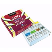 Sargent Art  200-Count Washable Broad Tip Assorted Marker Set 22-1525