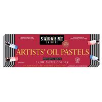 Sargent Art 25 Count Oil Pastels, Assorted  22-2018