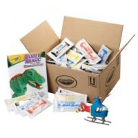 Crayola 23-6002 Model Magic Modeling Compound Class Pack, Assorted, 1-oz. Pouches, 75/Carton