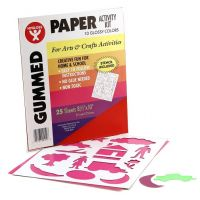 Gummed Paper in Assorted Colors 8.5