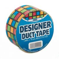 Just for Laughs JFL2514 Duct Tape, 10-Yard, Multi Color Cubes