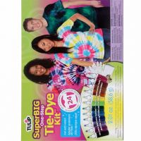 Tulip 26507 One-Step Super Big Tie Dye Kit, 12 Colors