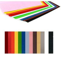 Hygloss Velour Paper Assorted Colors - 22