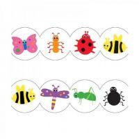 Hygloss Classroom Die Cut, Bugs Border, 3 x 36-Inch, 12-Pack, 33614