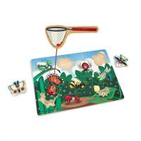 Melissa & Doug Bug Catching Magnetic Wooden Puzzle Game, item 3779