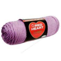 Red Heart classic, Crochet Premium Acrylic Knitting yarn, Lavender