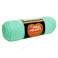 Red Heart classic, Crochet Premium Acrylic Knitting yarn, Mist Green
