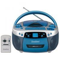Classroom Boombox Radio Cassette Recorder USB, MP3, CD,  and AM/FM