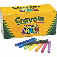 Crayola Colored Drawing Chalk, 144/Pack  BIN510400