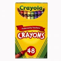 Crayola Classic Color Pack Crayons, Tuck Box, 48 Colors Box  52-0048