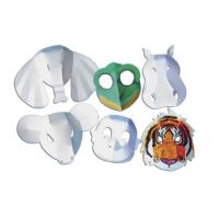 Roylco Wild Animal Mask, Pack of 30, R52083