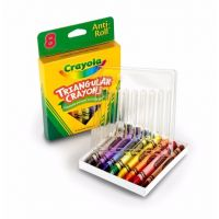 Crayola 8ct Triangular Crayons 52-4008