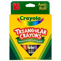 Crayola 16ct Triangular Crayons  52-4016