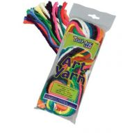 Pacon 10 Colors Art Yarn PAC-52600
