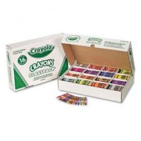 Crayola Classpack Assortment, 800 Regular Size Crayons, 16 Different Colors (50 Each)