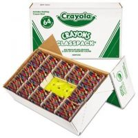 Crayola - Classpack Regular Crayons, Assorted, 832 Box 52-8019
