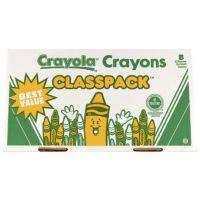 Crayola 400ct Large Size Crayon Classpack 8 colors 52-8038