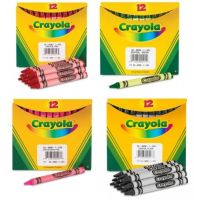 Crayola Crayons Bulk Refill - Regular Size, Box of 12, Sold Color