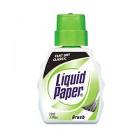 Paper Mate Liquid Paper Fast Dry White Correction Fluid, 22 mL