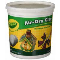 Crayola Air-Dry Clay, White, 5 lb  (57-5055)