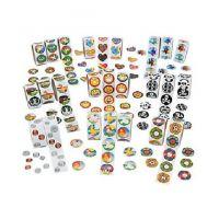Paper Mega Rolls of Stickers Assortment