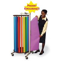 PACON® ROTARY RACK WITH 20 DOWELS FOR Fadeless rolls (57542)