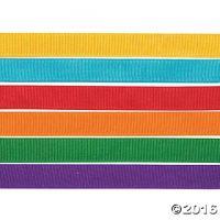 Grosgrain Ribbons 6 Roll 1/2
