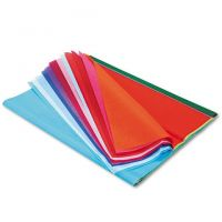 Pacon Spectra Art Tissue, 20 x 30, 20 Assorted Colors, 20 Sheets/Pack