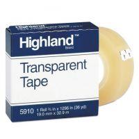 Highland Economy Transparent Tape 3/4